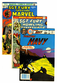 Miscellaneous Bronze Age War - Short Box Group (Various, 1970-83) Condition: Average VG
