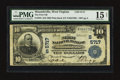 National Bank Notes:West Virginia, Moundsville, WV - $10 1902 Plain Back Fr. 633 The First NB Ch. #(S)5717. ...