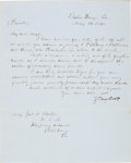 Autographs:U.S. Presidents, Zachary Taylor Letter Signed... (Total: 3 Items)