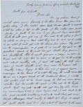 "Autographs:Statesmen, Mormon Church President Wilford Woodruff Autograph Letter Signed""W Woodruff"". ..."