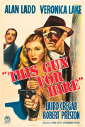 "Movie Posters:Film Noir, This Gun for Hire (Paramount, R-1945). One Sheet (27"" X 41"").. ..."