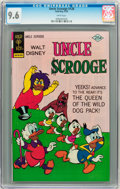 Bronze Age (1970-1979):Cartoon Character, Uncle Scrooge #128 (Gold Key, 1976) CGC NM+ 9.6 White pages....