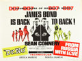 "Movie Posters:James Bond, Dr. No/From Russia with Love Combo (United Artists, R-1965). British Quad (30"" X 40"").. ..."