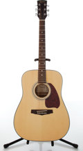 Musical Instruments:Acoustic Guitars, 1990s Ibanez Performance PF5-ST-14-02 Natural Acoustic Guitar, #K020702242....