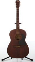Musical Instruments:Acoustic Guitars, 1960s Favilla Model F-5 Natural Acoustic Guitar, #8822....