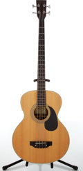 Musical Instruments:Bass Guitars, Sigma Model STB-RE C Natural Electric Acoustic Bass, #92500643....