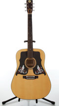 Musical Instruments:Acoustic Guitars, 1975 Kay 550 Natural Acoustic Guitar, #S23057....
