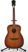 Musical Instruments:Acoustic Guitars, 1960s Silvertone Model 319 Natural Acoustic Guitar, #12210000....