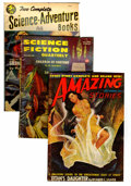 Pulps:Science Fiction, Assorted Science Fiction Pulps Group (Various, 1940-57) Condition:Average GD/VG.... (Total: 12 Comic Books)