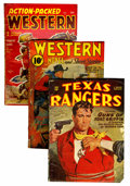 Pulps:Western, Assorted Western Pulps Group (Various, 1923-58) Condition: Average GD.... (Total: 24 Comic Books)