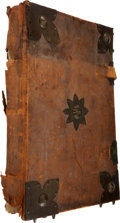 Books:Manuscripts, Psalter, in Latin. [N.p.: n.d. ca. 1475]....
