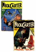 Pulps:Detective, Nick Carter Magazine #2 and 3 Group (Street & Smith, 1933)Condition: Average GD.... (Total: 2 Comic Books)