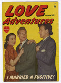 "Golden Age (1938-1955):Romance, Love Adventures #1 Davis Crippen (""D"" Copy) pedigree (Marvel/Atlas,1949) Condition: FN+...."