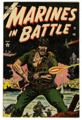Golden Age (1938-1955):War, Marines in Battle #1 (Atlas, 1954) Condition: VF....