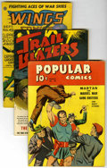 Golden Age (1938-1955):Miscellaneous, Miscellaneous Golden Age Group (Various Publishers, 1940-56) Condition: Average VG.... (Total: 12)