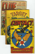 Golden Age (1938-1955):Miscellaneous, Miscellaneous Golden Age Comics Group (Various Publishers, 1943-46) Condition: Average GD.... (Total: 12)