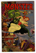 Golden Age (1938-1955):Horror, Monster #1 (Fiction House, 1953) Condition: FN/VF....