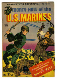 Monty Hall of the U. S. Marines #1 (Toby Publishing, 1951) Condition: GD/VG