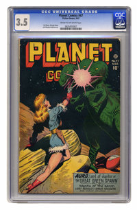 Planet Comics #47 (Fiction House, 1947) CGC VG- 3.5 Cream to off-white pages