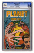 Golden Age (1938-1955):Science Fiction, Planet Comics #49 (Fiction House, 1947) CGC VG 4.0 Cream tooff-white pages. Murphy Anderson, Lily Renee, Joe Cavallo, Georg...