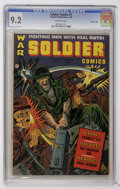Golden Age (1938-1955):War, Soldier Comics #7 Crowley Copy pedigree (Fawcett, 1953) CGC NM- 9.2 Off-white pages....