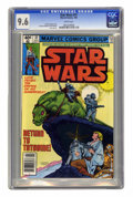 Modern Age (1980-Present):Science Fiction, Star Wars #31 (Marvel, 1980) CGC NM+ 9.6 White pages. CarmineInfantino and Bob Wiacek cover and art. Overstreet 2005 NM- 9....