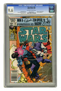 Modern Age (1980-Present):Science Fiction, Star Wars #56 (Marvel, 1982) CGC NM+ 9.6 Off-white to white pages. ...