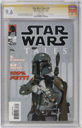 Modern Age (1980-Present):Science Fiction, Star Wars Tales #18 and Star Wars: Boba Fett - Agent of Doom #nnCGC Signature Series Group (Dark Horse, 2000-03).... (Total: 2)