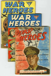 War Heroes Group (Dell, 1942-44).... (Total: 4)