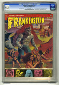 Bronze Age (1970-1979):Horror, Castle of Frankenstein #19 (Gothic Castle Printing, 1972) CGC NM- 9.2 Off-white to white pages. Ray Harryhausen and Douglas ...