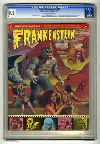 Castle of Frankenstein #19 (Gothic Castle Printing, 1972) CGC NM- 9.2 Off-white to white pages. Ray Harryhausen and Doug...