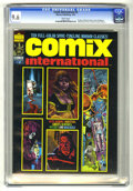 Magazines:Horror, Comix International #2 (Warren, 1974) CGC NM+ 9.6 White pages. Richard Corben, Esteban Maroto, Wally Wood, Reed Crandall, an...