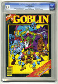 Modern Age (1980-Present):Horror, Goblin (Magazine) #2 (Warren, 1982) CGC NM 9.4 White pages. Firstappearance of Hobgoblin. Eight page color insert. Rudy Neb...