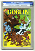 Modern Age (1980-Present):Horror, Goblin (Magazine) #3 (Warren, 1982) CGC NM 9.4 White pages. Eightpage color insert. Tin Man appearance. Last issue. Rudy Ne...