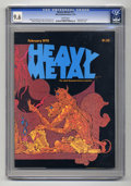Magazines:Science-Fiction, Heavy Metal #11 (HM Communications, 1978) CGC NM+ 9.6 White pages....