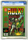 Magazines:Superhero, Hulk #15 (Marvel, 1979) CGC NM+ 9.6 White pages. Earl Norem cover.Gene Colan, Rudy Nebres, Ron Wilson, Alfredo Alcala, and ...