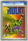 Magazines:Superhero, Hulk #23 (Marvel, 1980) CGC NM/MT 9.8 White pages. Last full-colorissue. Walt Simonson cover. Howard Chaykin, John Buscema,...