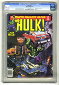 Magazines:Superhero, Hulk #27 (Marvel, 1981) CGC NM+ 9.6 Off-white to white pages. LastIssue. Walt Simonson frontispiece. Joe Jusko cover. Gene ...