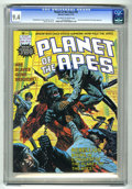 Magazines:Miscellaneous, Planet of the Apes #18 (Marvel, 1976) CGC NM 9.4 Off-white to whitepages. Part two of Planet of the Apes glossary. Ken Barr...
