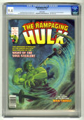 Magazines:Superhero, The Rampaging Hulk #7 (Marvel, 1978) CGC NM 9.4 White pages. ...