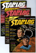 Magazines:Science-Fiction, Starlog #1-12 Group (Starlog Press, 1976-78) Condition: AverageFN.... (Total: 12)