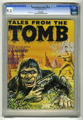 Tales From the Tomb (Magazine) V3#2 (Eerie, 1971) CGC NM- 9.2 White pages. Dick Ayers art. Overstreet 2005 NM- 9.2 value...