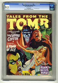 Tales From the Tomb (Magazine) V6#3 (Eerie, 1974) CGC NM- 9.2 Off-white pages Severed head cover. Overstreet 2005 NM- 9...