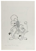 Original Comic Art:Covers, Woody Woodpecker #146 Cover Original Art (Gold Key, 1975).. ...