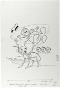 Original Comic Art:Covers, Donald Duck #192 Cover Original Art (Gold Key, 1978). ...