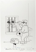 Original Comic Art:Covers, Beagle Boys #42 Cover Original Art (Gold Key, 1978)....