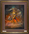 "Original Comic Art:Paintings, Boris Vallejo - ""Alpnu"" Painting Original Art (1989). ..."