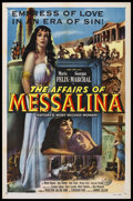 "Movie Posters:Action, The Affairs of Messalina (Columbia, 1951). One Sheet (27"" X 41"").Sword and Sandal. Starring Maria Felix, Georges Marchal, a..."