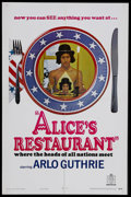 """Movie Posters:Comedy, Alice's Restaurant (United Artists, 1969). One Sheet (27"""" X 41"""").Comedy Drama. Starring Arlo Guthrie, Pat Quinn, James Brod..."""