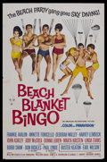 "Movie Posters:Comedy, Beach Blanket Bingo (AIP, 1965). One Sheet (27"" X 41""). Comedy.Starring Frankie Avalon, Annette Funicello, Deborah Walley a..."